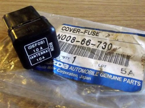 Fuse box, aerial & HRW, Mazda MX-5 mk1, heated rear window, in boot, N00866730